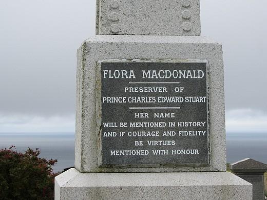 Flora MacDonald's Grave