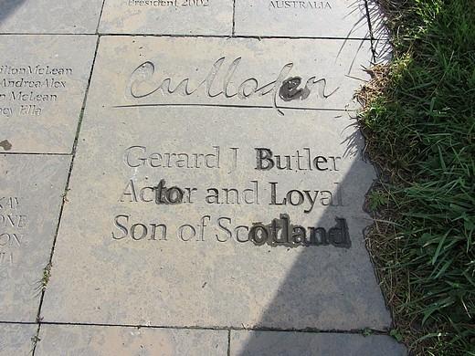 Gerald Butler, Walk of Stones