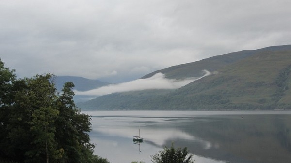 Morning view of Loch Linnhe