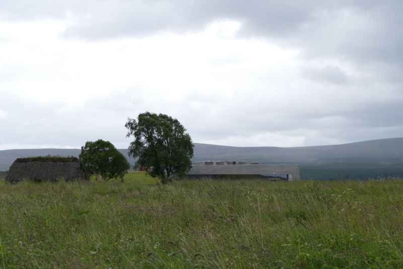 Cottage and Visitor Centre at Culloden Moor