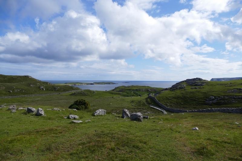Ruins of Ceannabeinne village