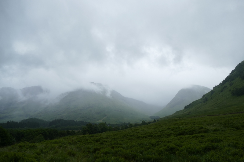 Glencoe in the fog