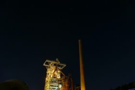 Illuminated Industrial Heritage Site