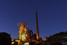 Illuminated Industrial Heritage Site