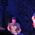 Frank Turner on the drums