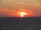 Sunrise on the North Sea