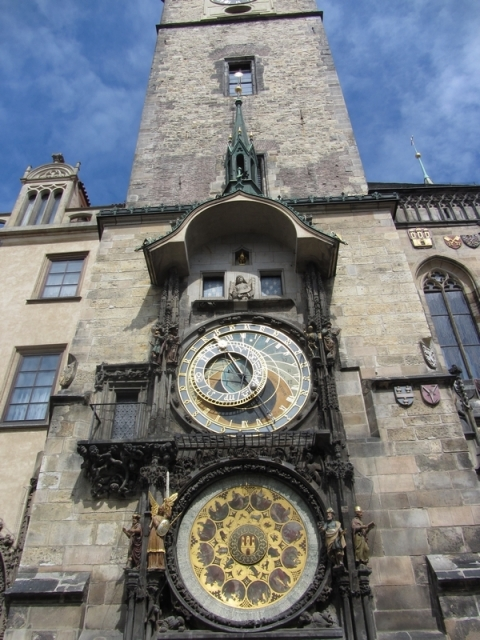 Astronomical Clock at Old Town Hall