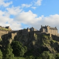 Edinburgh Castle, view from Princes Street Gardens