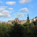 Edinburgh Old Town, view from Princes Street Gardens