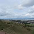The way down from Arthur's Seat