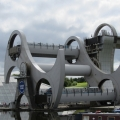 The Falkirk Wheel in action
