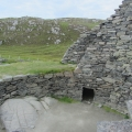 The broch from above