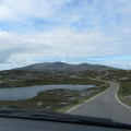 Typical view, driving on Harris