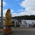 """Fisherman"" at Stornoway Harbour"