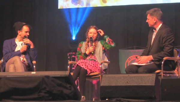 Harry Melling and Jessie Cave at RingCon 2015