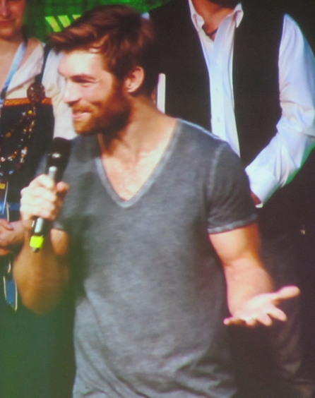 Liam McIntyre at RingCon 2015
