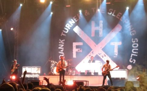 Frank Turner and the Sleeping Souls on stage