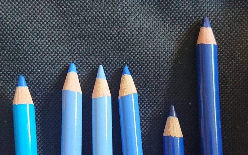 Blue Polychromos